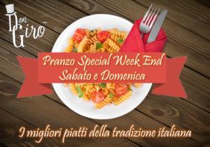 Pranzo Special Week End